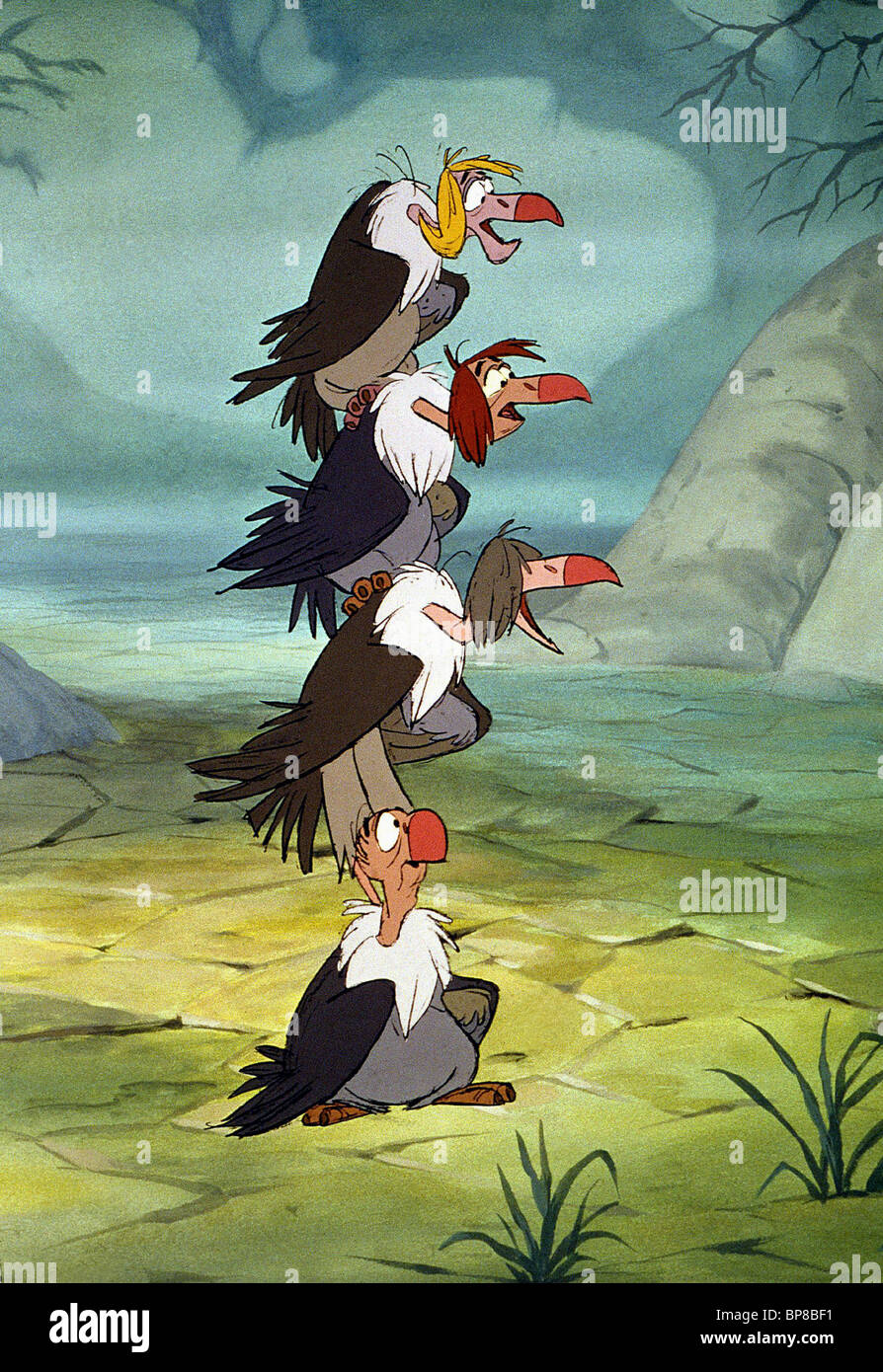 Uncategorized Jungle Book Vultures vultures the jungle book 1967 stock photo royalty free image 1967
