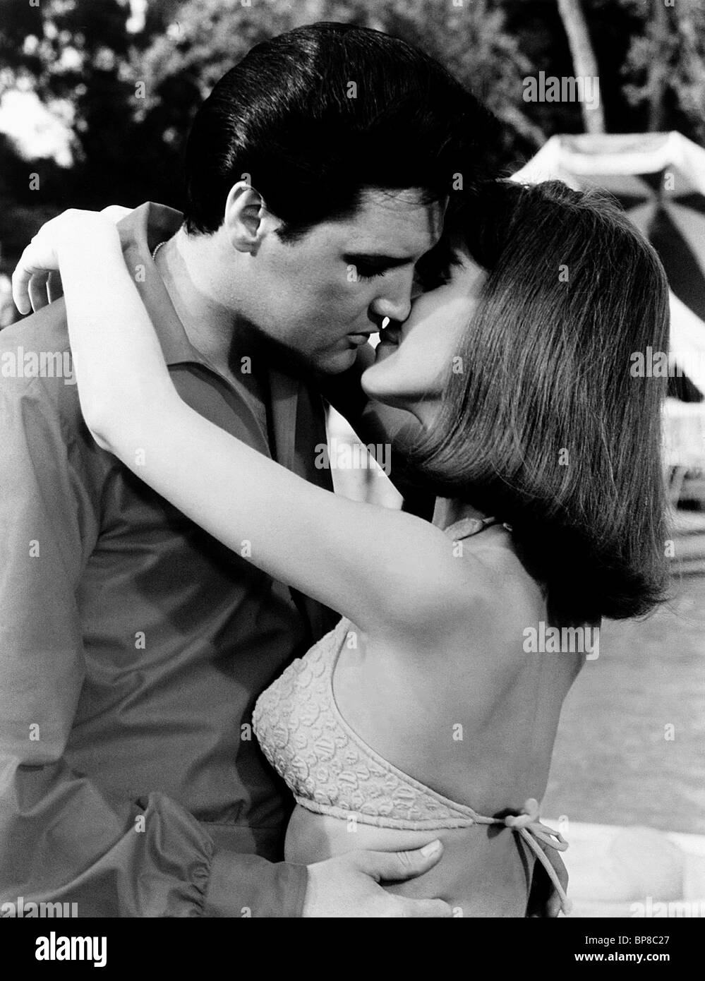 elvis presley shelley fabares spinout california holiday 1966 stock photo