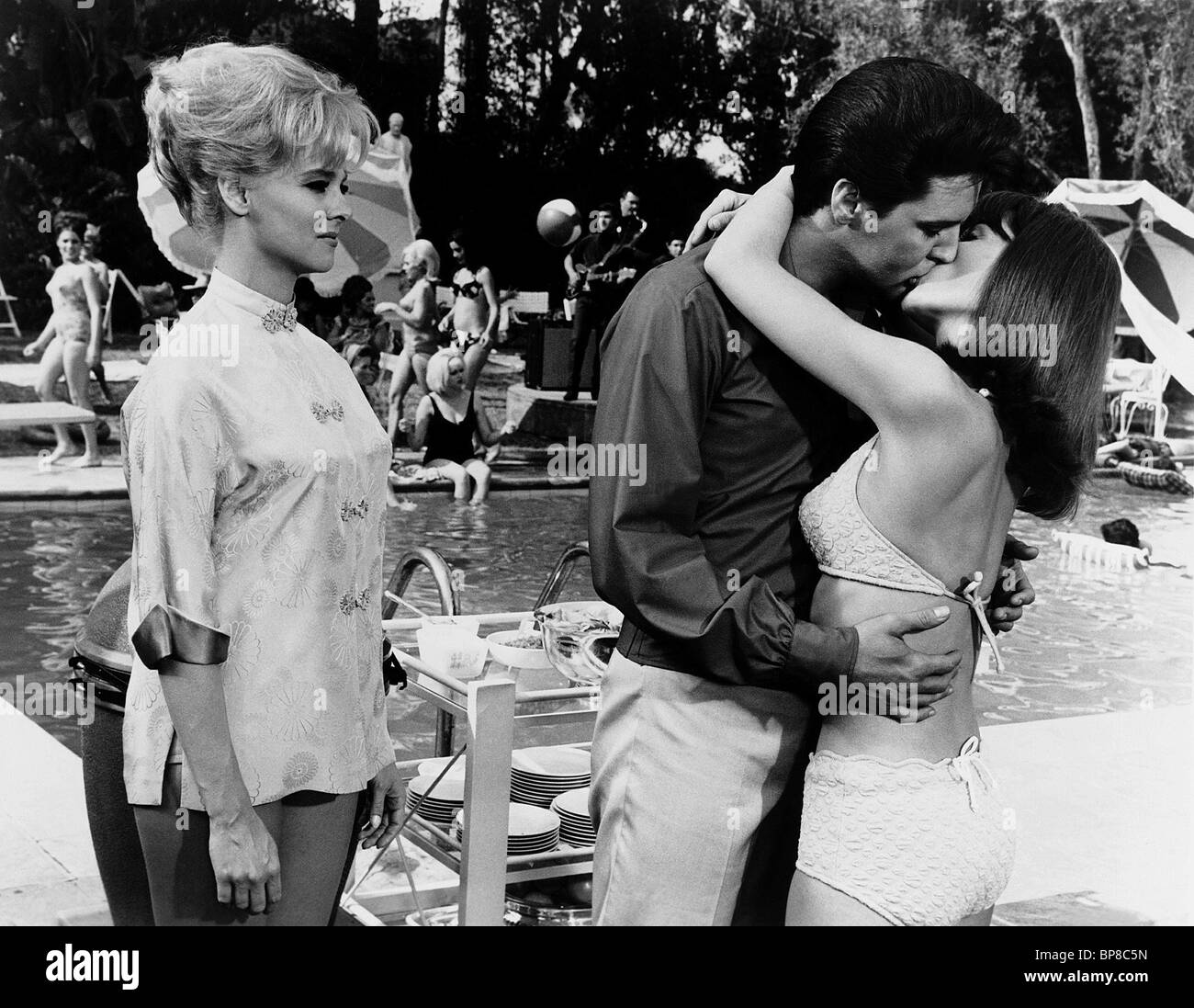 diane mcbain elvis presley shelley fabares spinout california holiday 1966 stock photo