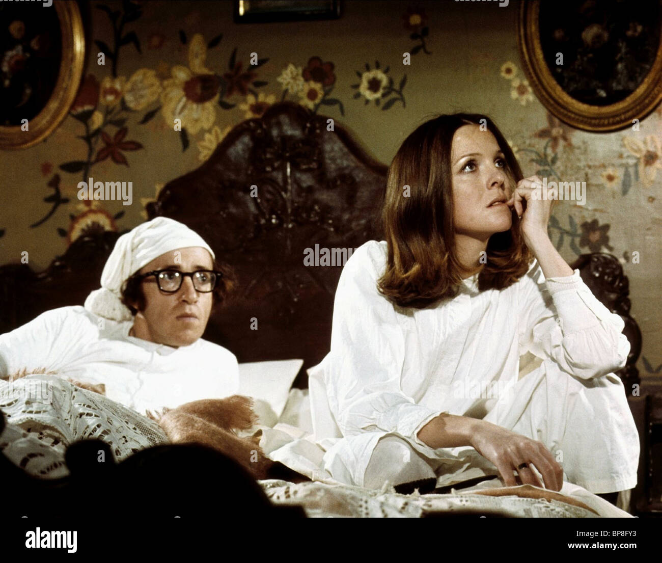 WOODY ALLEN & DIANE KEATON LOVE AND DEATH (1975 Stock ... Diane Keaton Woody Allen Romance