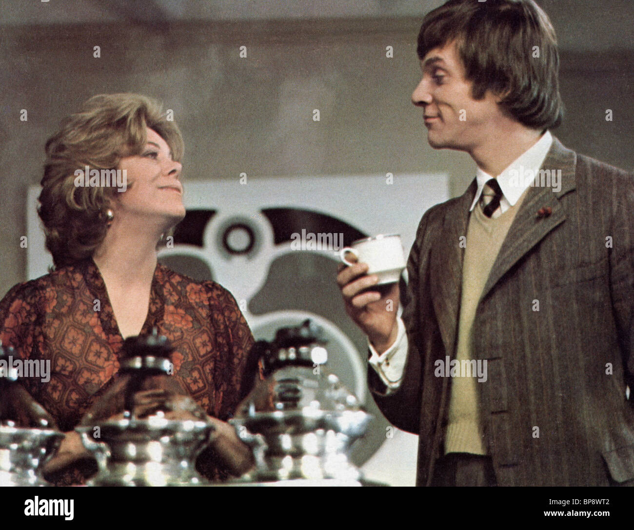 Rachel roberts malcolm mcdowell o lucky man 1973 stock image