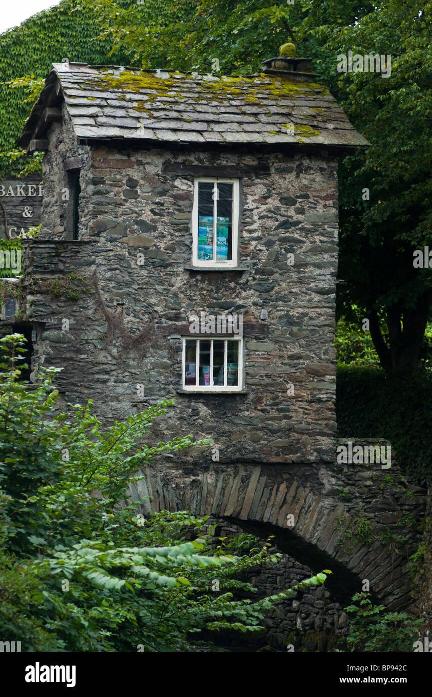 Little House On A Bridge In Ambleside Lake District