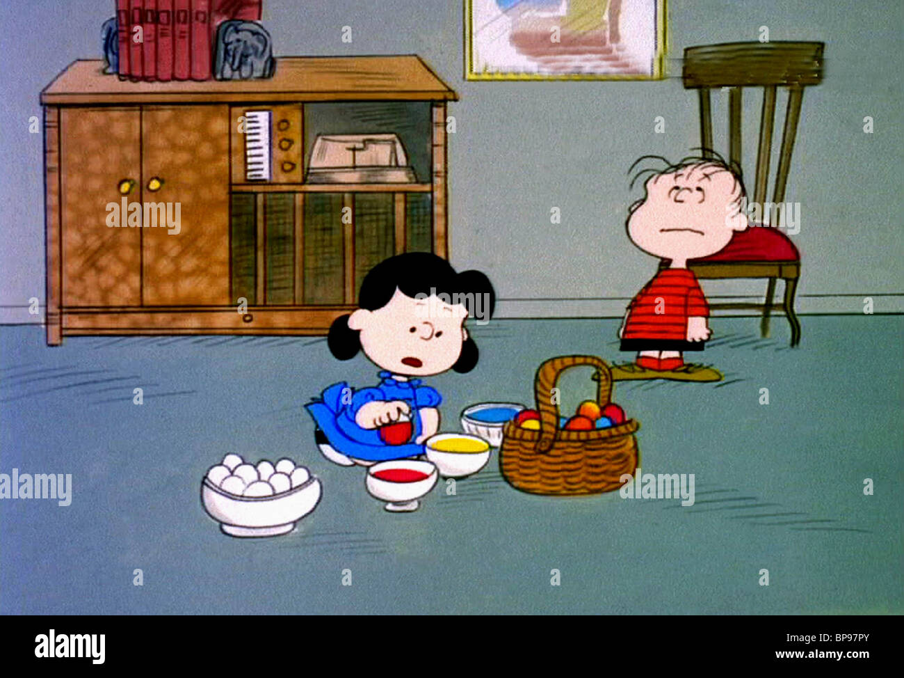 Lucy & Linus It's The Easter Beagle Charlie Brown (1974 Stock ...