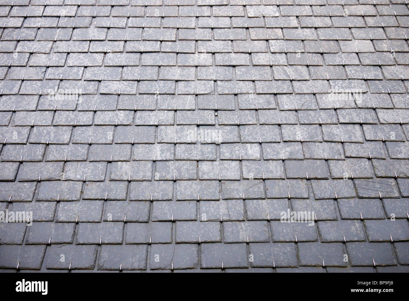 Roof Slates Thin Worn Out Loose Sliding Roofing Slates