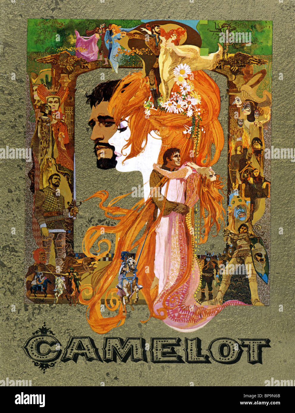 movie poster camelot 1967 stock photo royalty free image