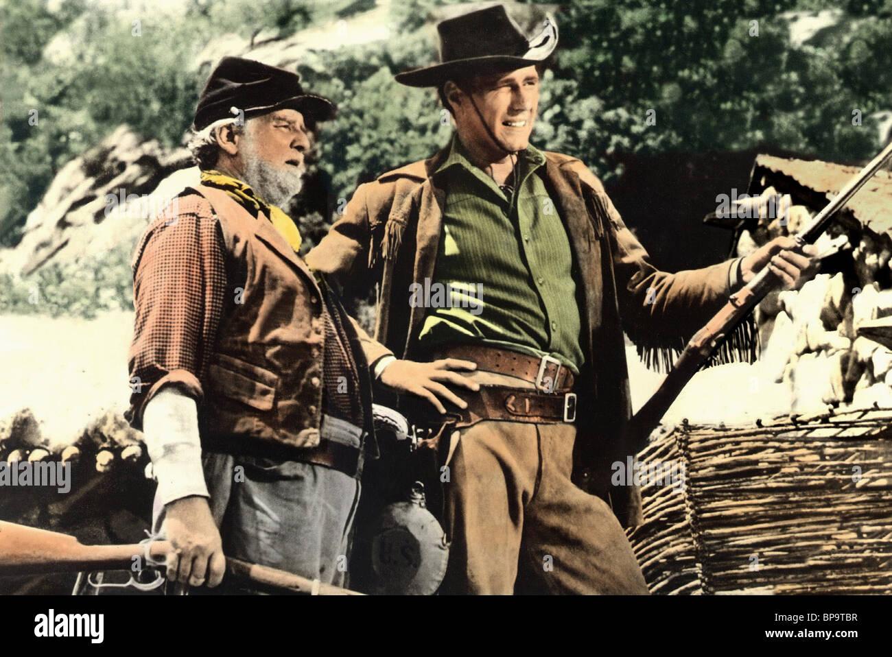 Wallace ford phil carey the nebraskan 1953 stock image
