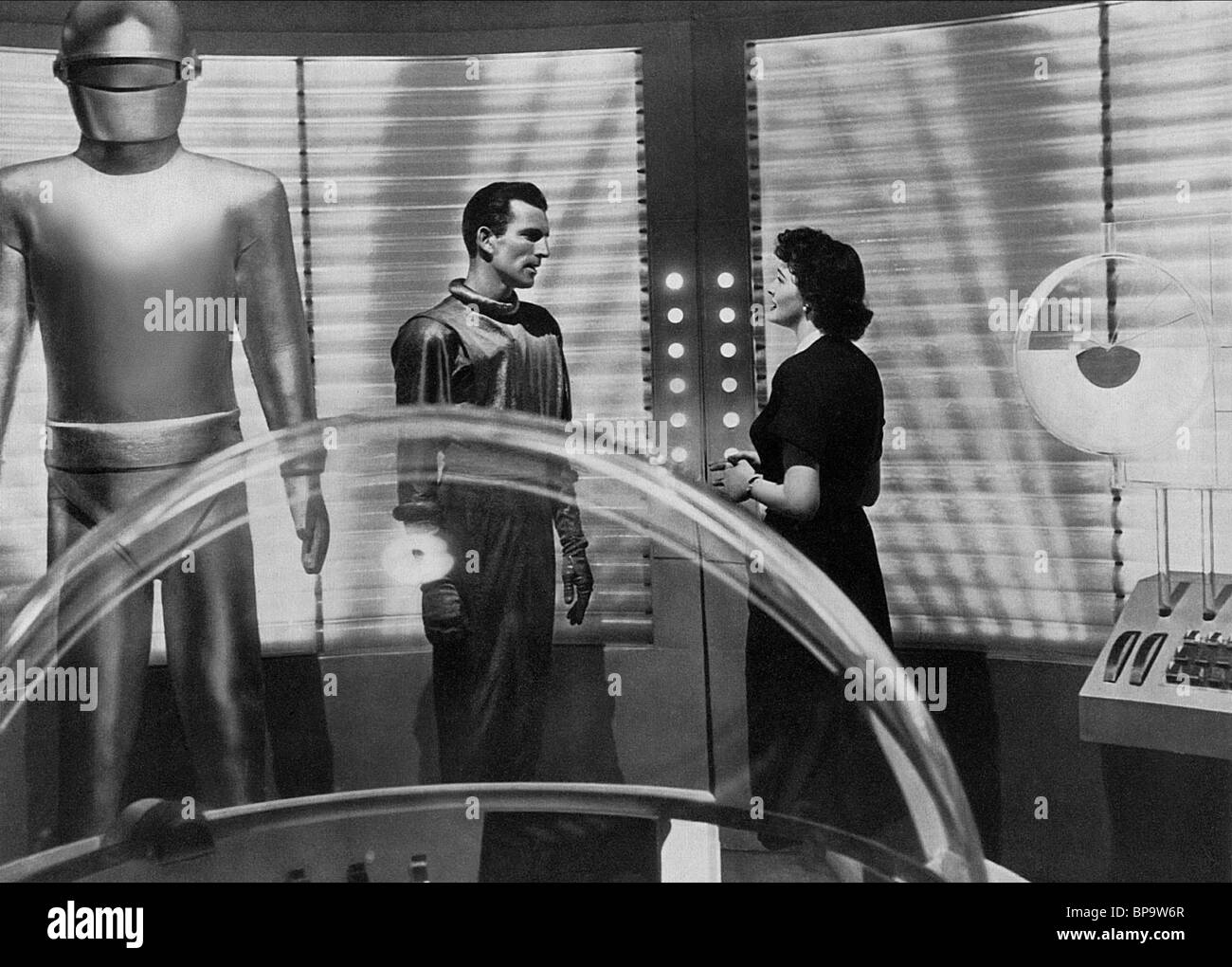 michael rennie amp patricia neal the day the earth stood