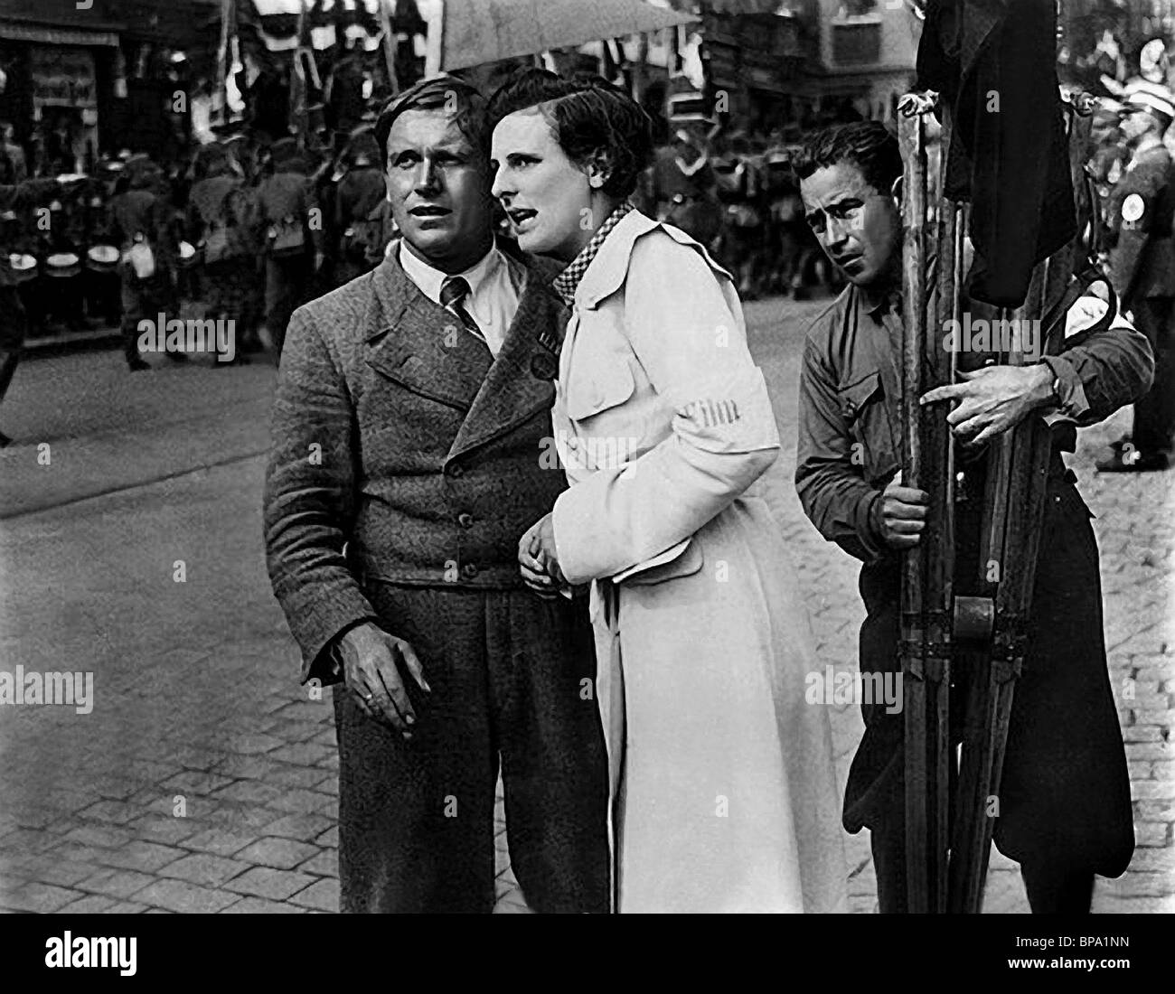 an analysis of leni riefenstahl Better time to reexamine the life and work of leni riefenstahl than the present we are now as far documentary film the wonderful, horrible life of leni riefenstahl, she says of goebbels, i can almost follows, i offer a detailed analysis of triumph of the wi/'s opening sequence begin by looking, first,.