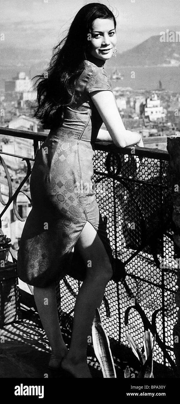 nancy kwan the world of suzie wong 1960 stock photo