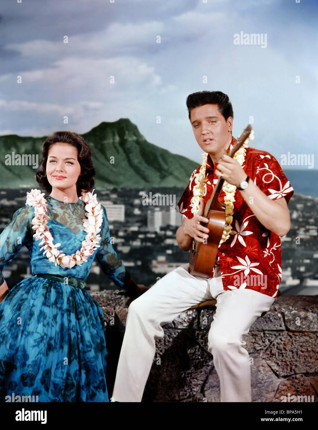 Resultado de imagen de joan blackman elvis blue hawaii