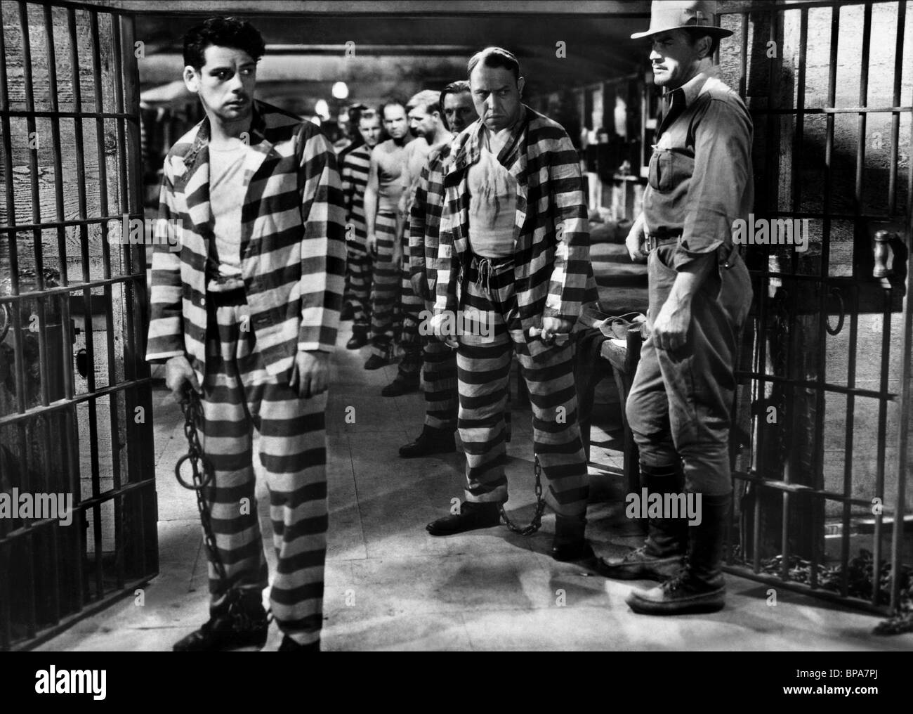 paul muni i am a fugitive from a chain gang 1932 stock