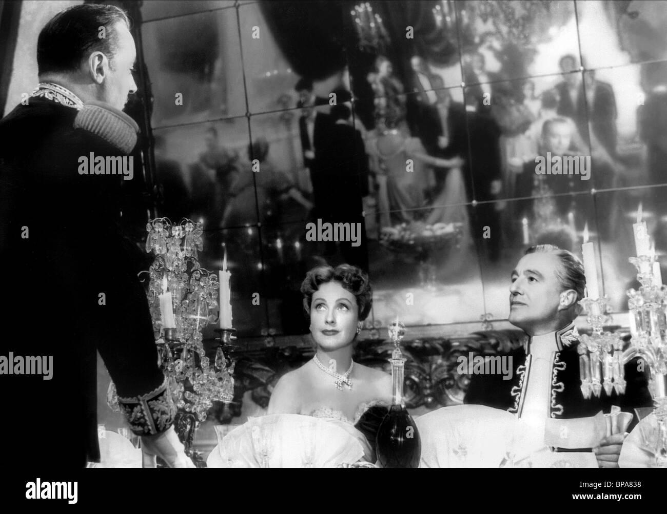 Charles Boyer Danielle Darrieux & Vittorio De Sica The Earrings Of Madame De;  Madame De (1953)