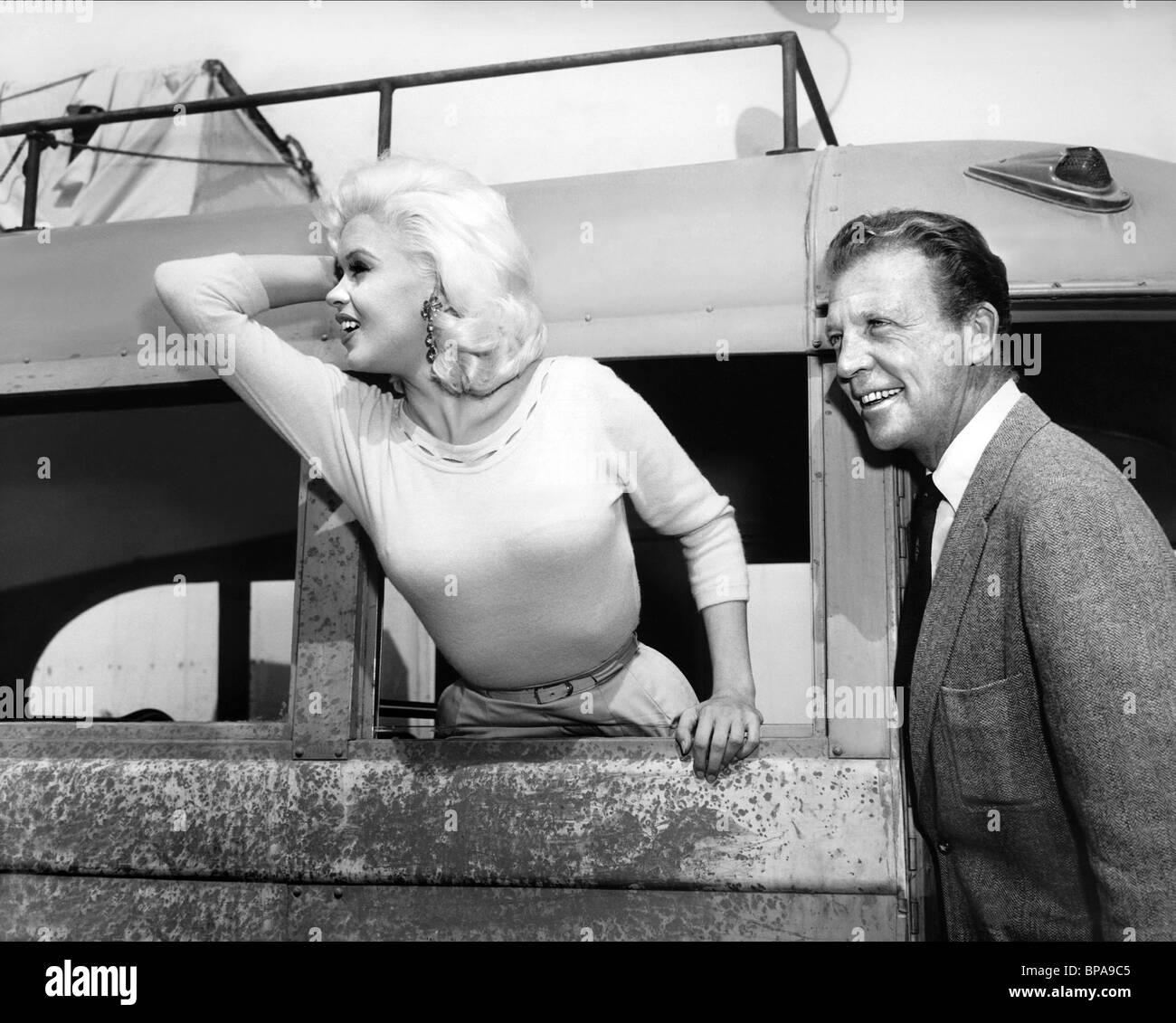 Jayne mansfield dan dailey the wayward bus 1957 stock image