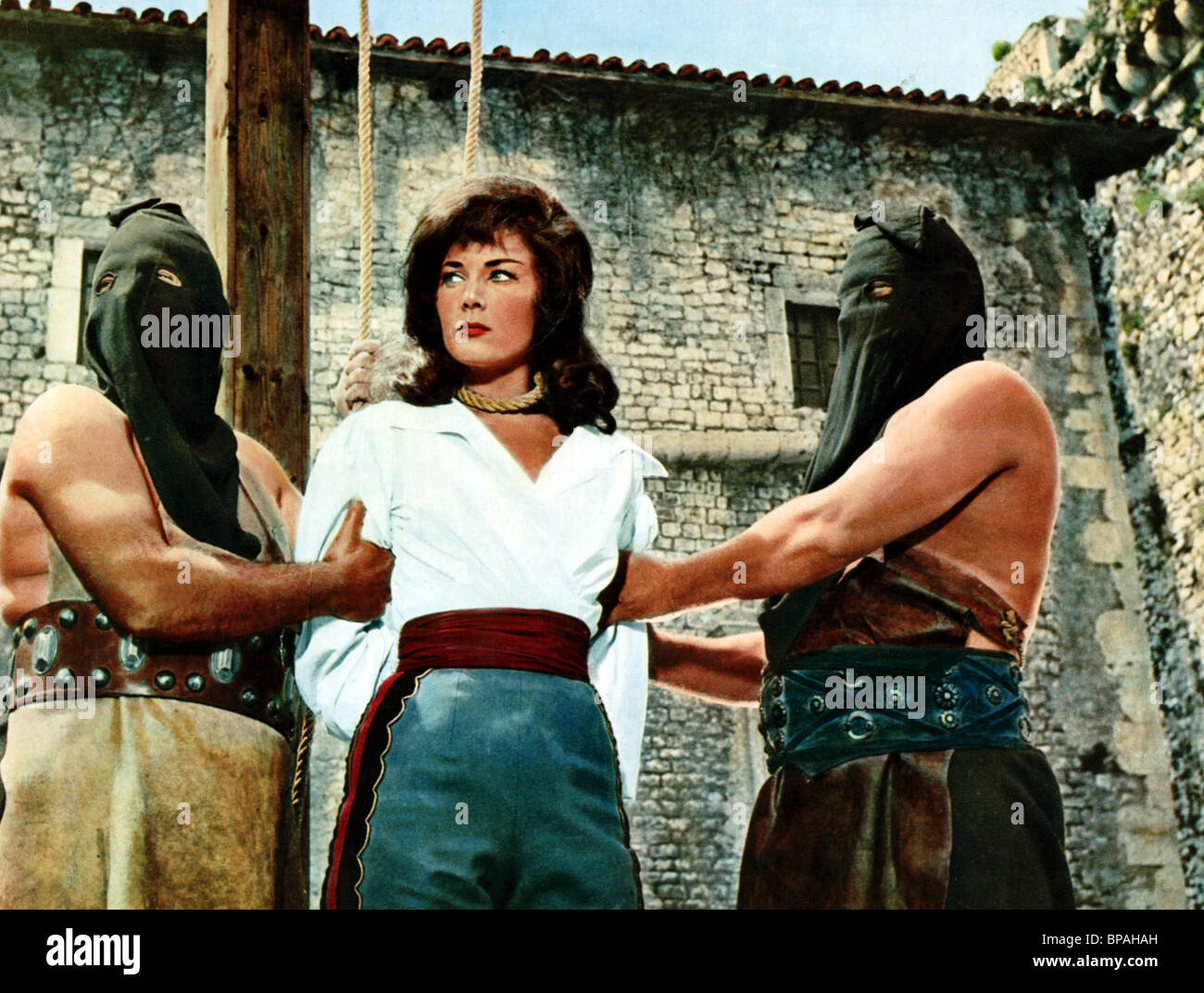 gianna maria canale queen of pirates 1961 stock photo royalty