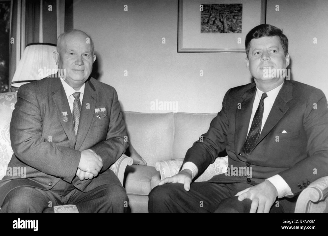 kennedy and khrushchev meet in vienna