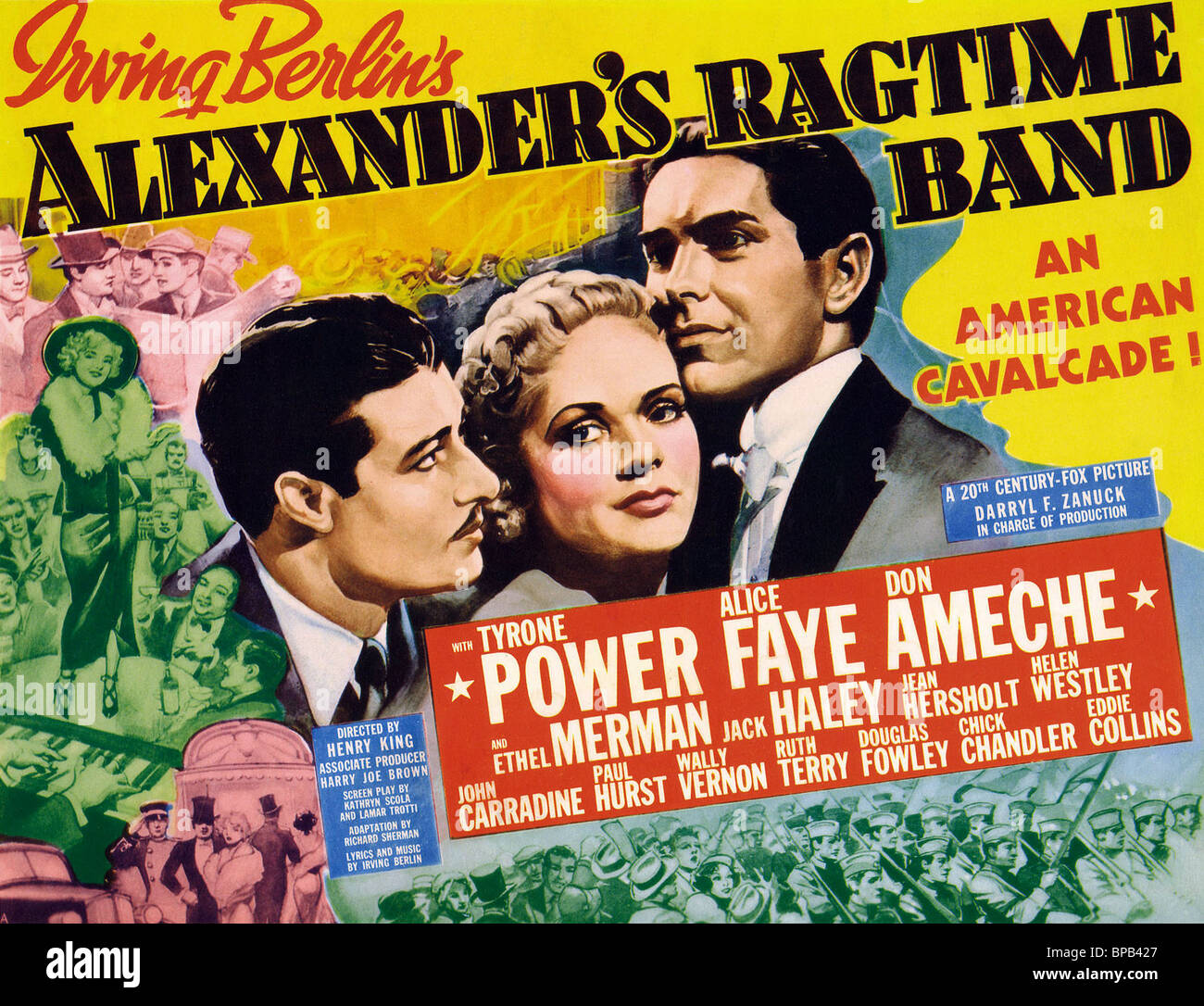 Image result for alexander's ragtime Band alice faye pictures