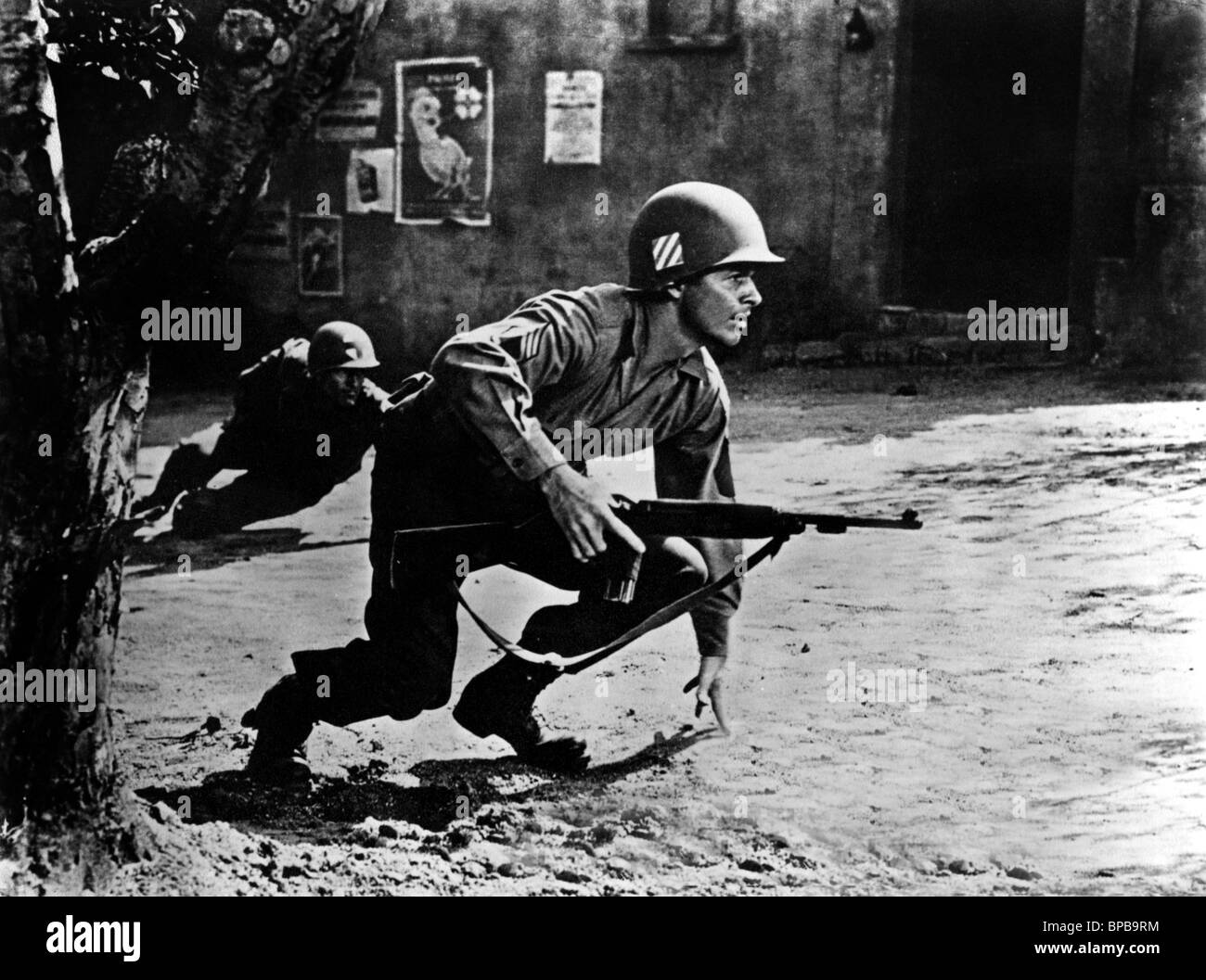 Audie Murphy To Hell And Back 1955 Stock Photo Royalty
