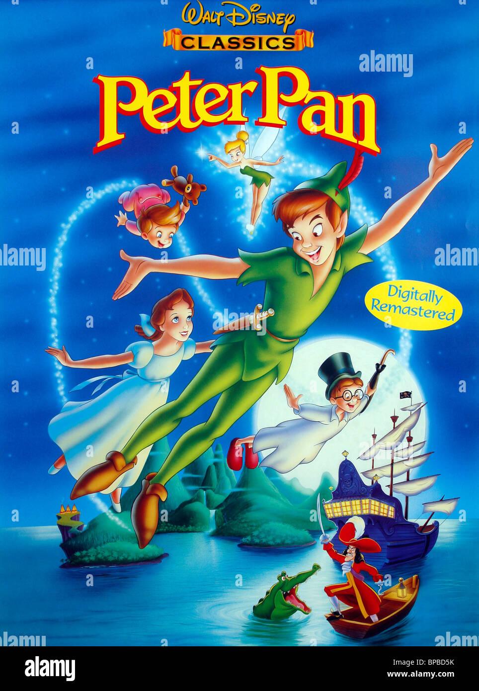 Film poster peter pan 1953 stock photo 30984623 alamy - Image de peter pan ...
