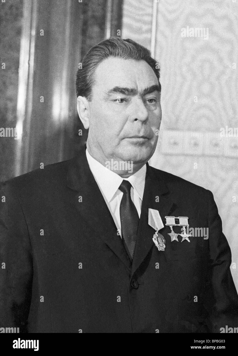 leonid brezhnev General secretary of the cpsu cc, brezhnev, reports to khrushchev about the  new course of the sed and the political mood of the population of the gdr.