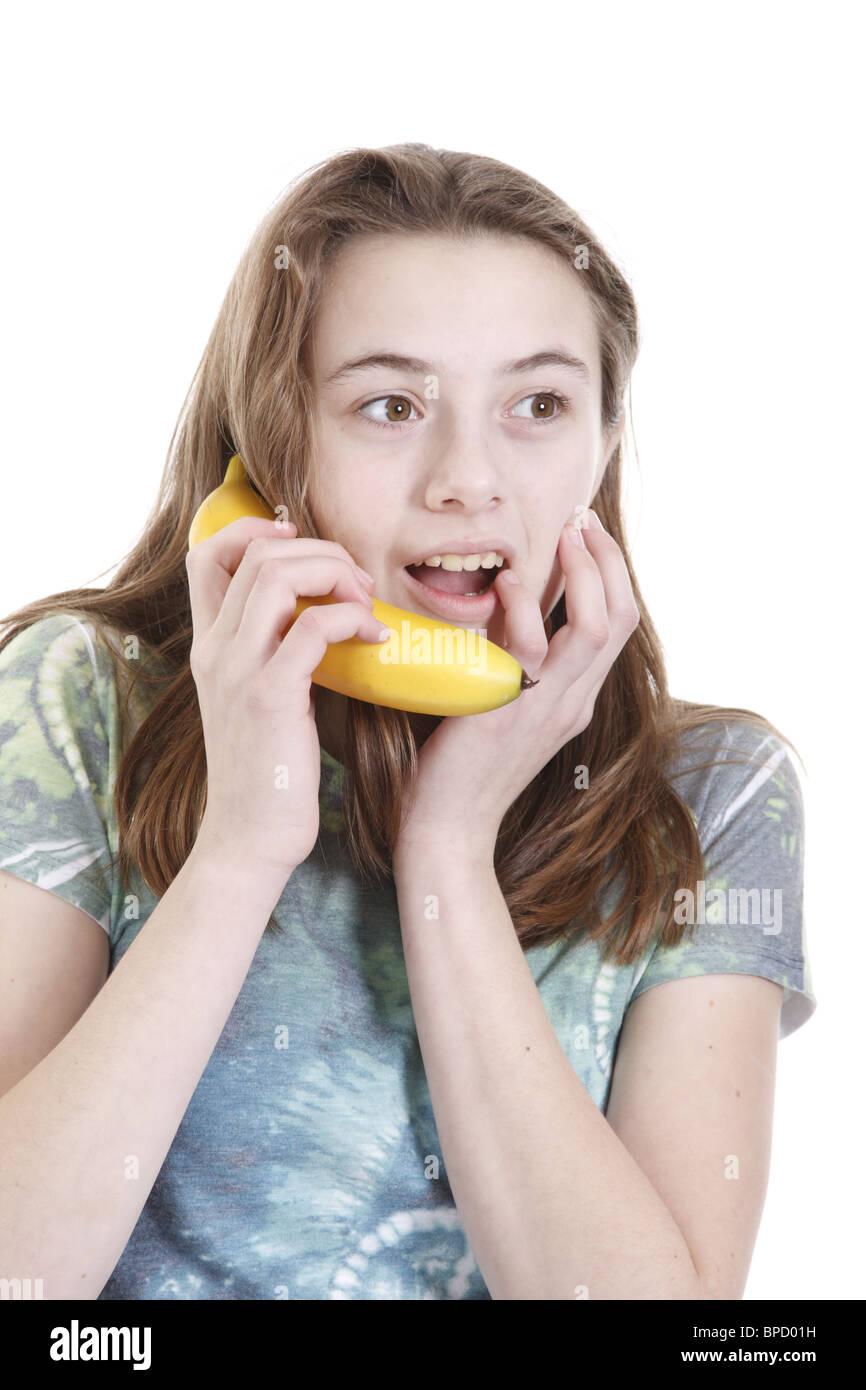 Teen banana