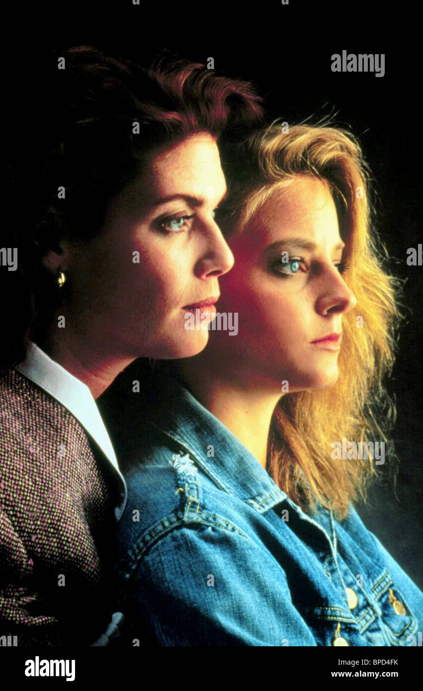 jodie foster kelly mcgillis the accused stock photo kelly mcgillis jodie foster the accused 1988 stock photo