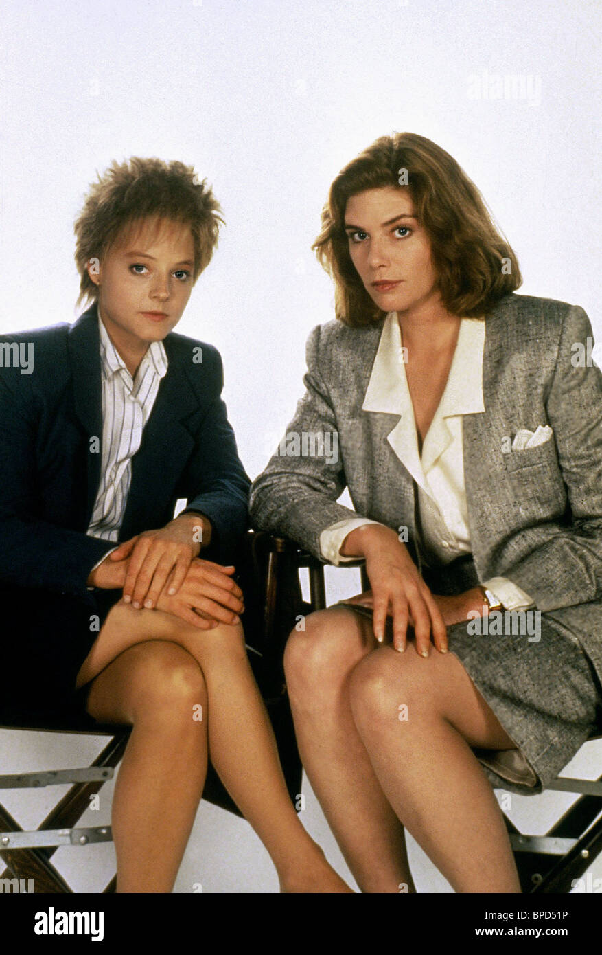 jodie foster kelly mcgillis the accused 1988 stock photo jodie foster kelly mcgillis the accused 1988