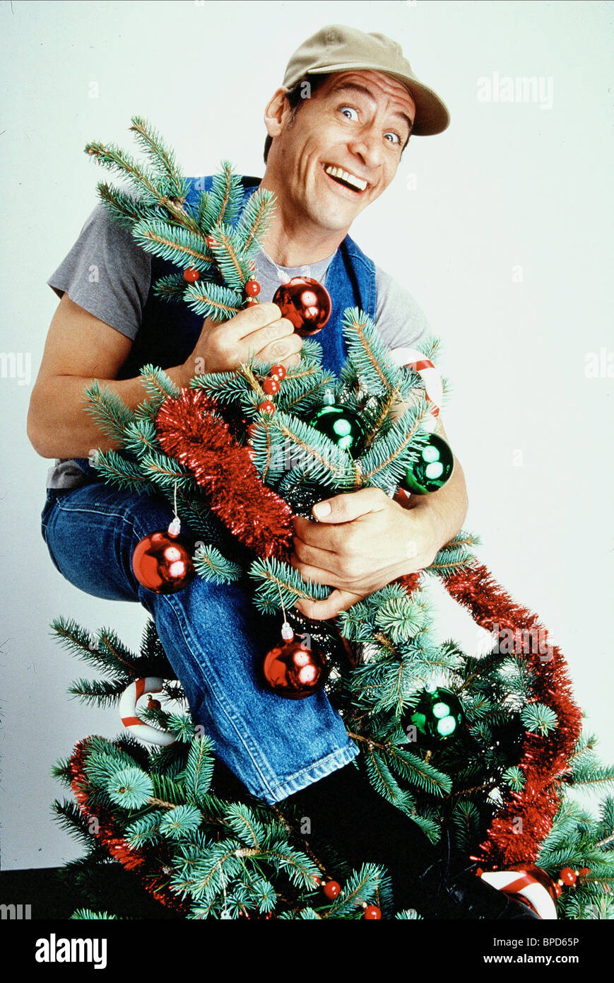 JIM VARNEY ERNEST SAVES CHRISTMAS (1988 Stock Photo, Royalty Free ...