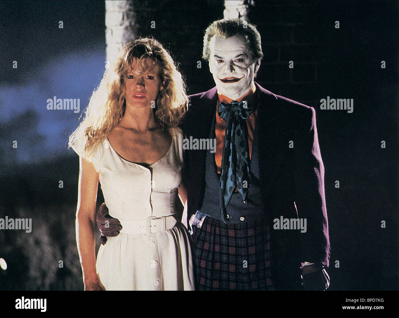 KIM BASINGER & JACK NICHOLSON BATMAN (1989 Stock Photo ...