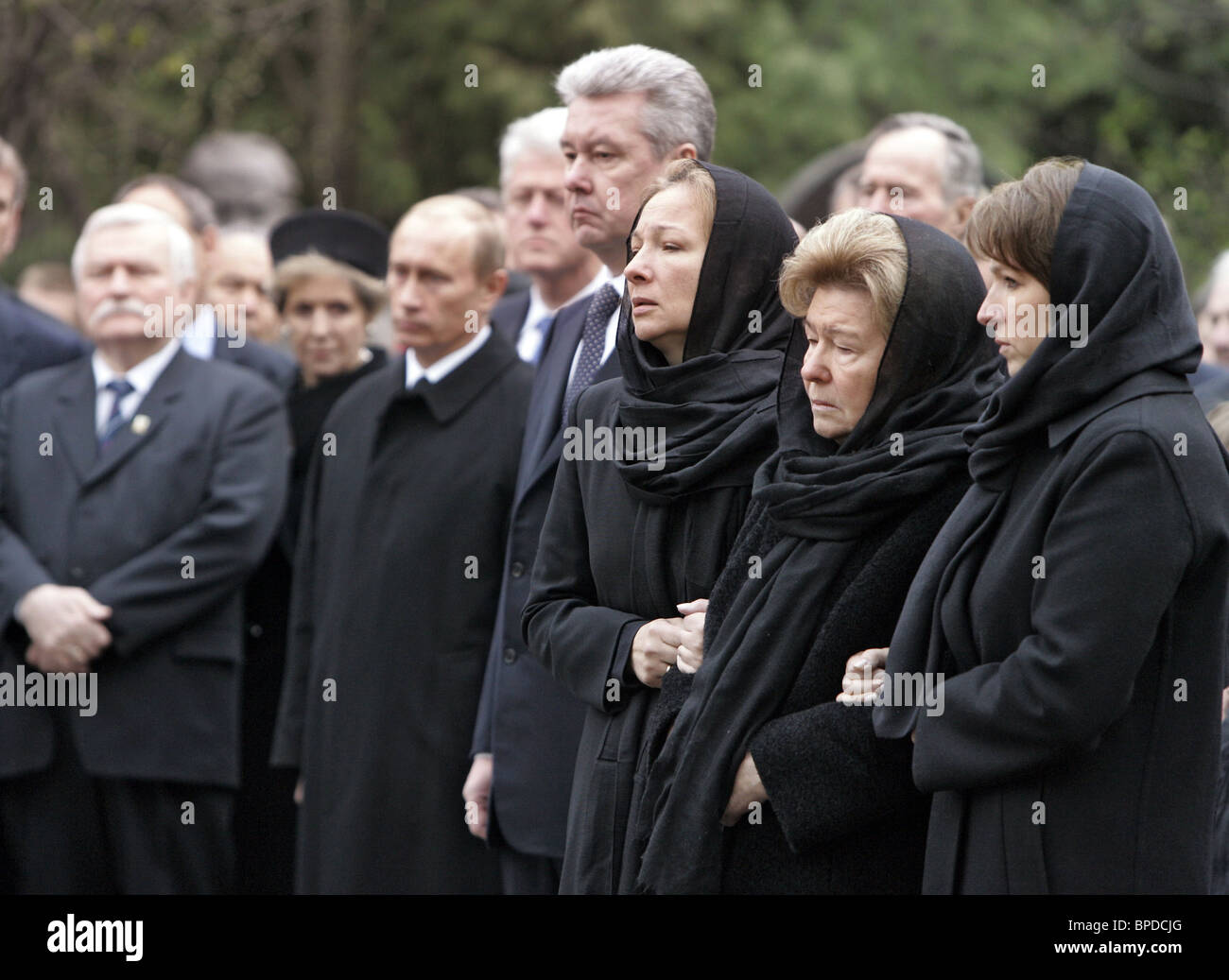 Boris Yeltsin Funeral