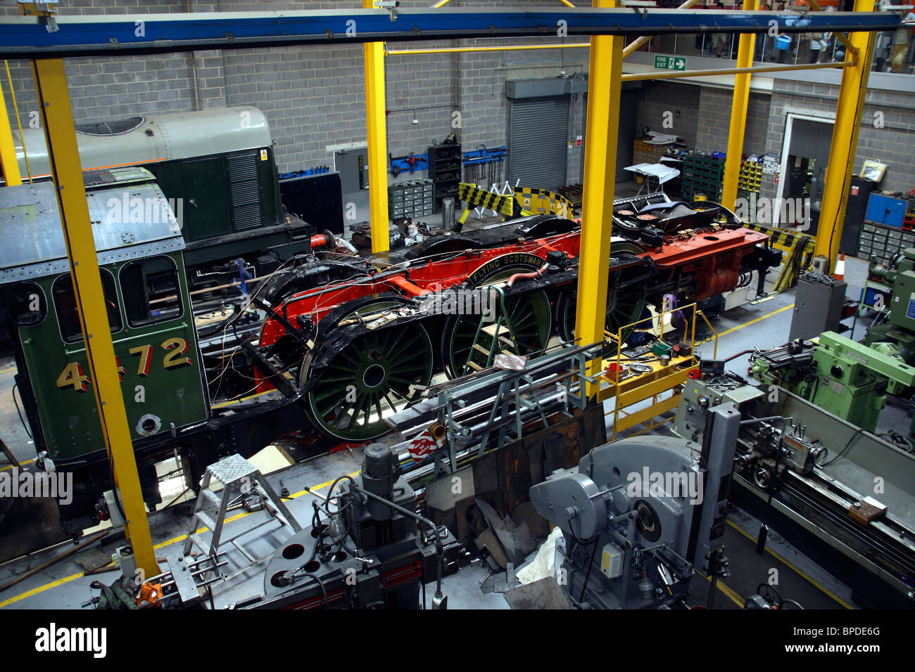 The Flying Scotsman at the National Railway Museum, York, Nth ...