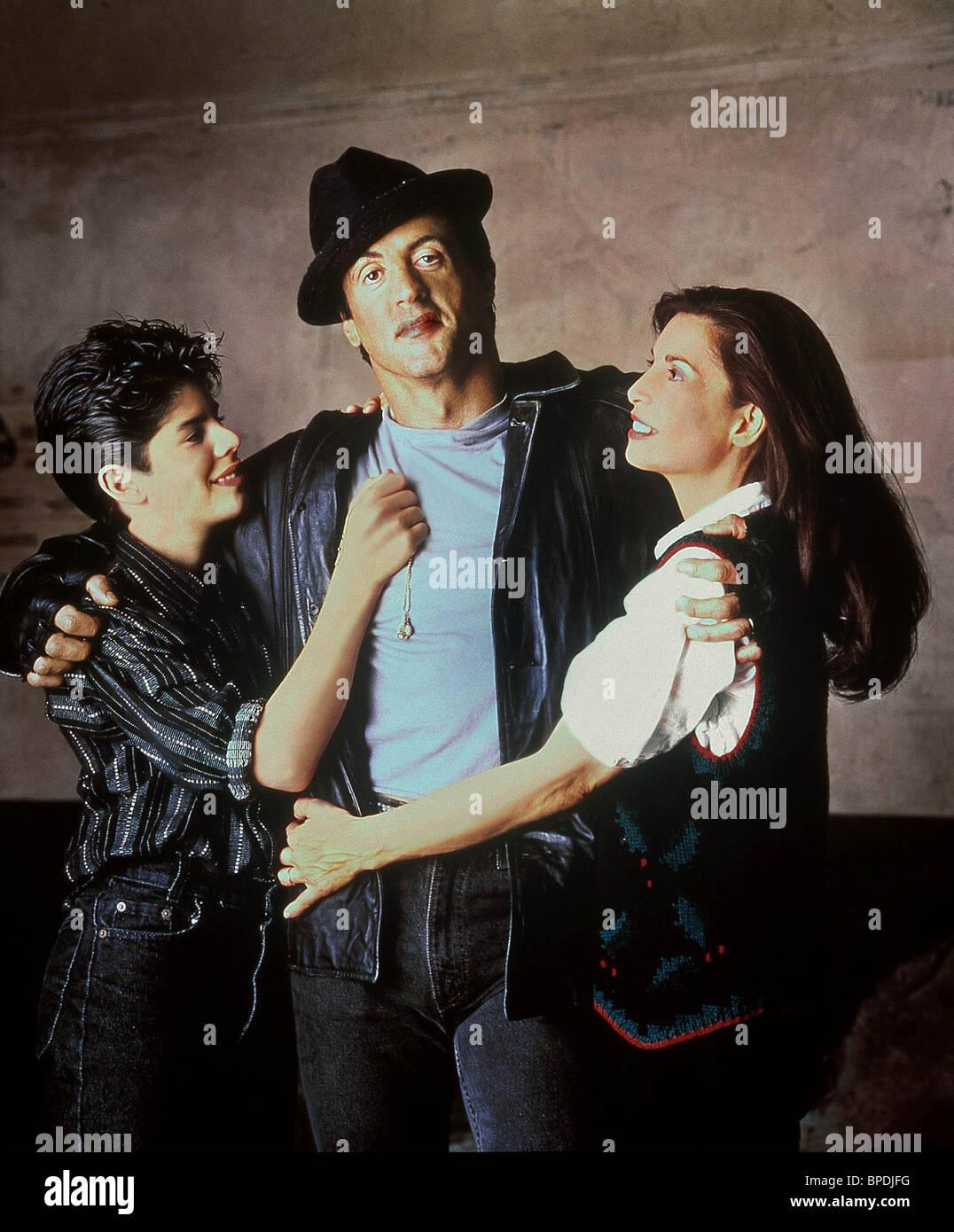 sage stallone sylvester stallone talia shire rocky v 1990