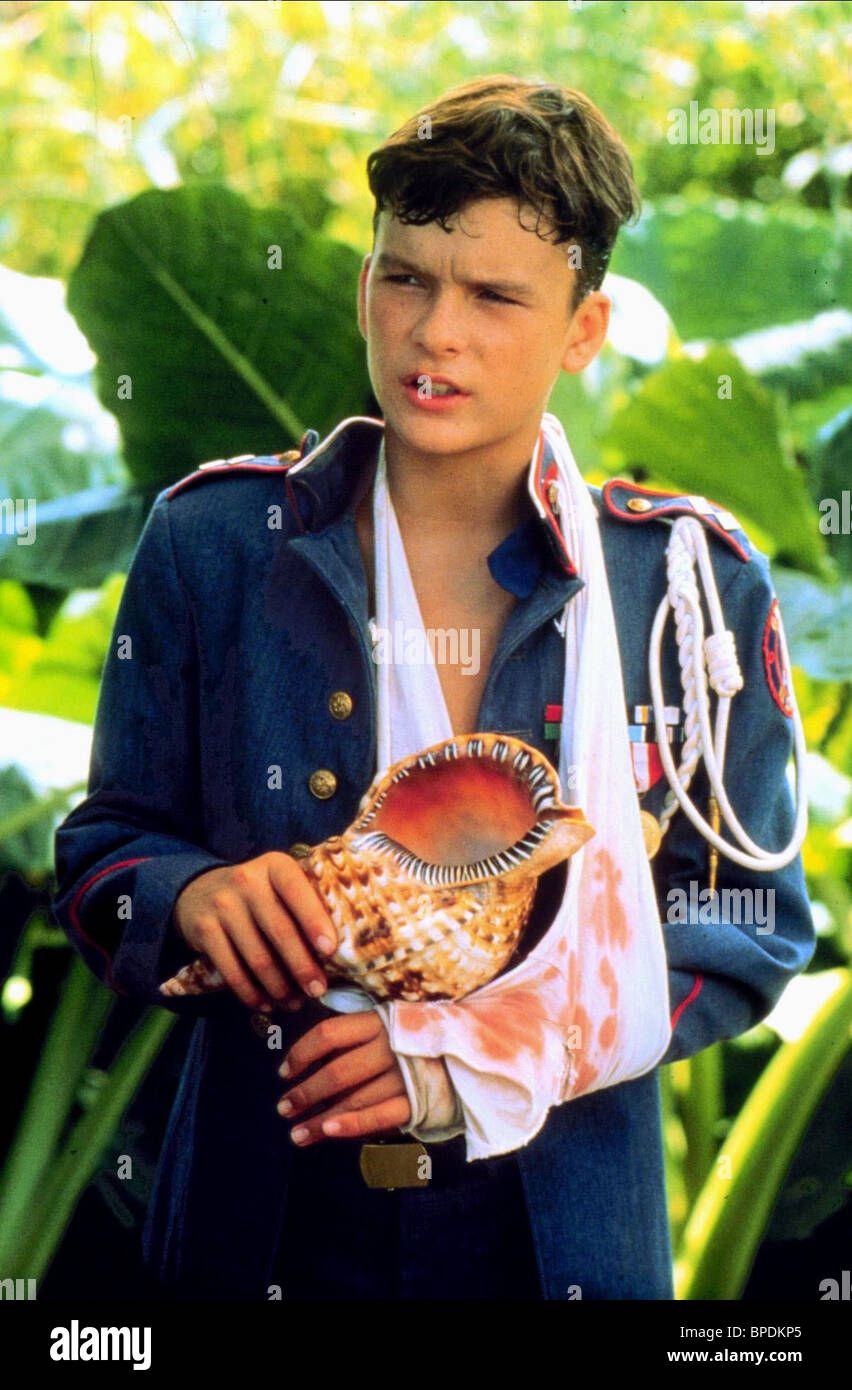 BALTHAZAR GETTY LORD OF THE FLIES (1990 Stock Photo, Royalty Free ...