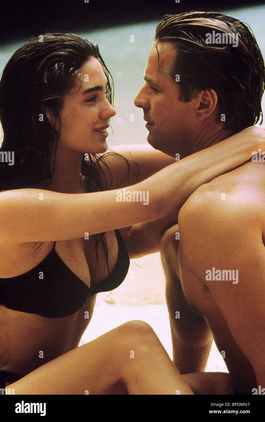 JENNIFER CONNELLY DON JOHNSON THE HOT SPOT (1990 Stock ...