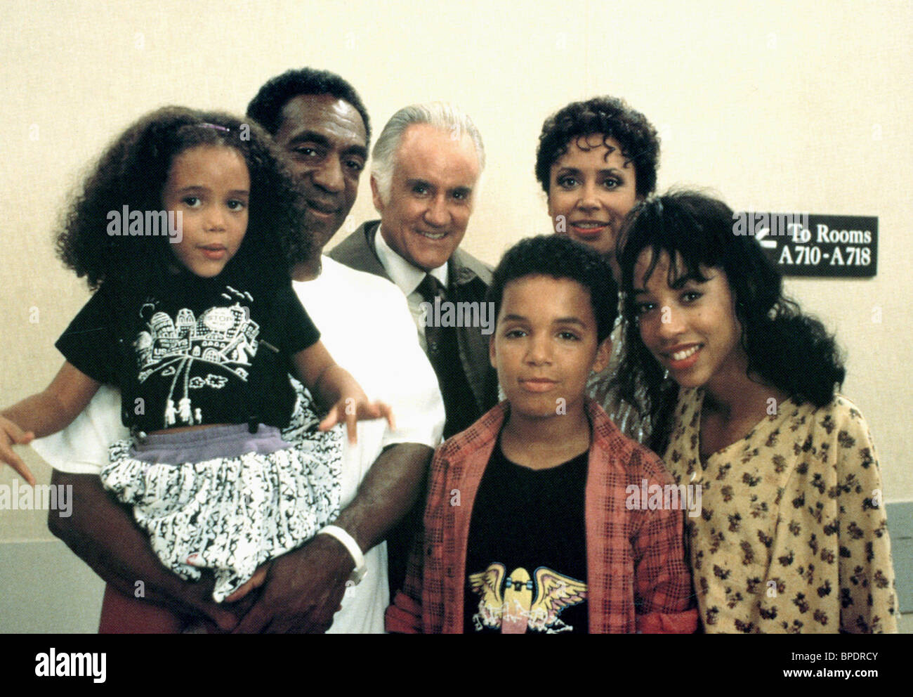 Bill cosby family photos - Bill Cosby Ian Bannen Kimberly Russell Salim Grant Brooke Fontaine Ghost Dad 1990