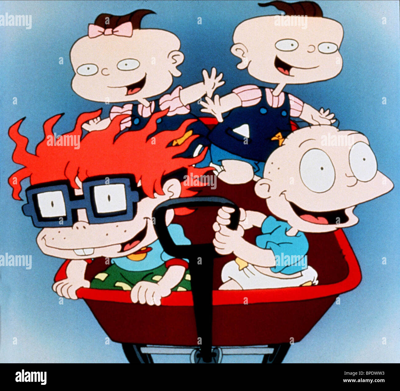 LIL PHIL CHUCKIE & TOMMY RUGRATS (1991 Stock Photo ...