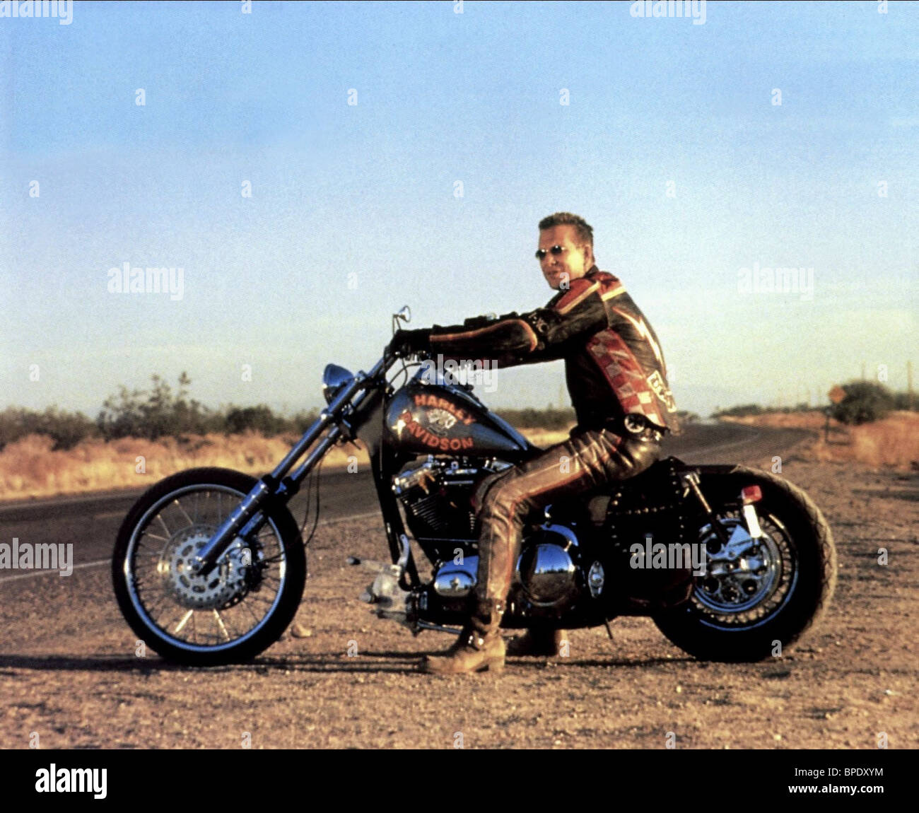 What Motorcycle Is In Harley Davidson And The Marlboro Man