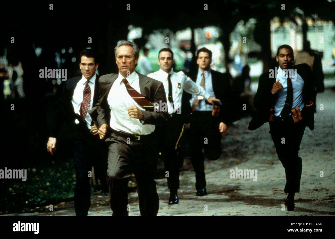 in the line of fire In the line of fire - 1993 secret service agent frank horrigan couldn't save kennedy, but he's determined not to let a clever assassin take out this president.