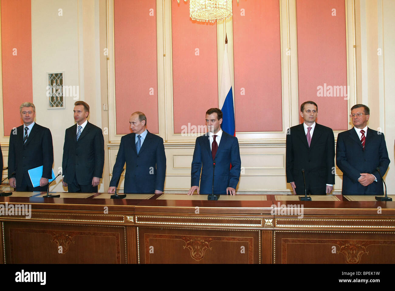 Putin announces cabinet line-up Stock Photo, Royalty Free Image ...