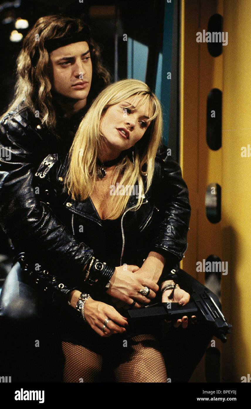 BRENDAN FRASER & AMY LOCANE AIRHEADS (1994 Stock Photo ...  BRENDAN FRASER ...