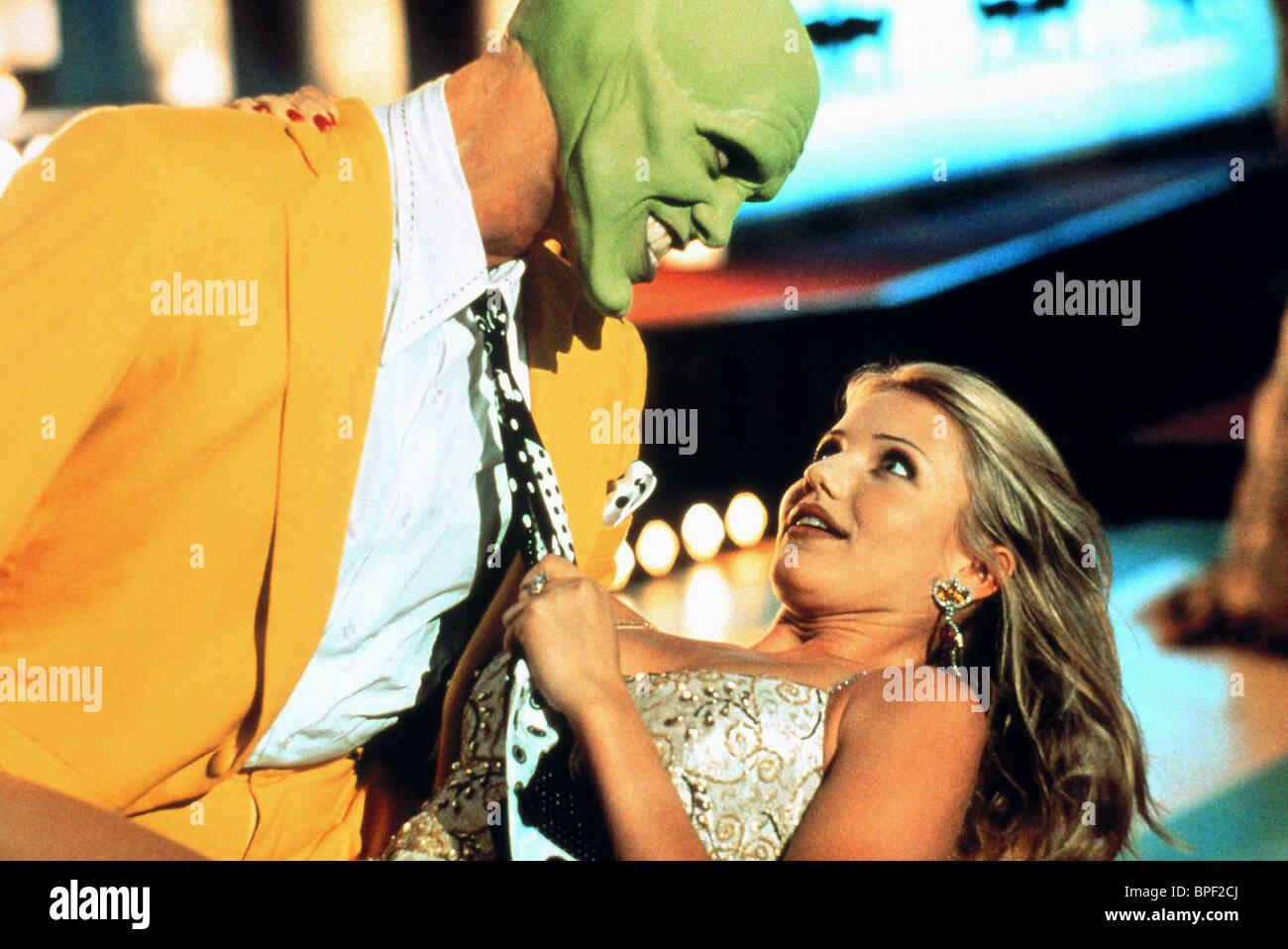Jim carrey cameron diaz the mask 1994 stock photo for The mask photos gallery