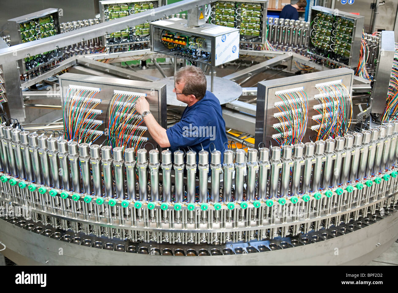 Neutraubling Germany  city pictures gallery : ... production of bottling plants in the factory in Neutraubling, Germany
