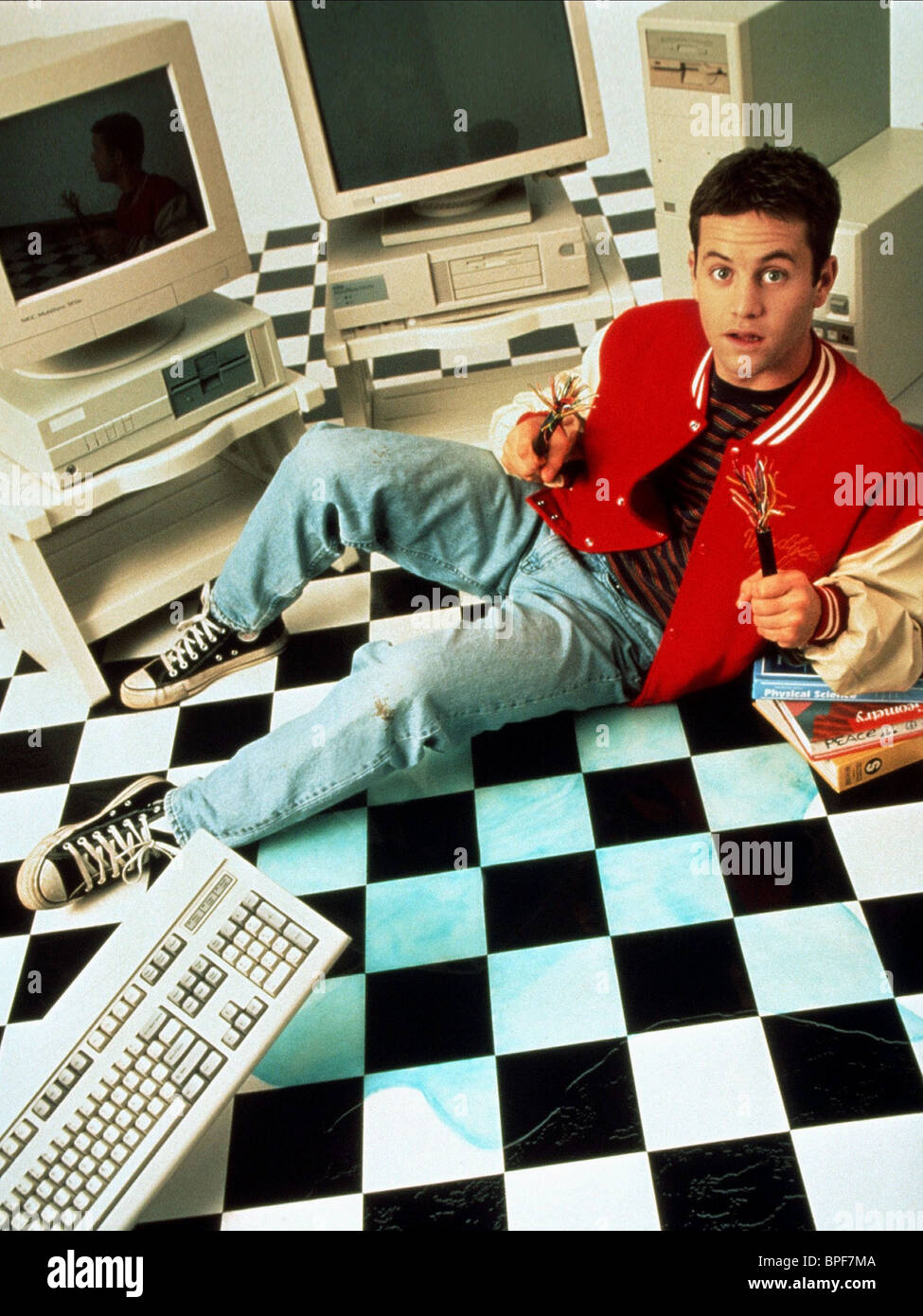 kirk cameron the computer wore tennis shoes 1995 stock
