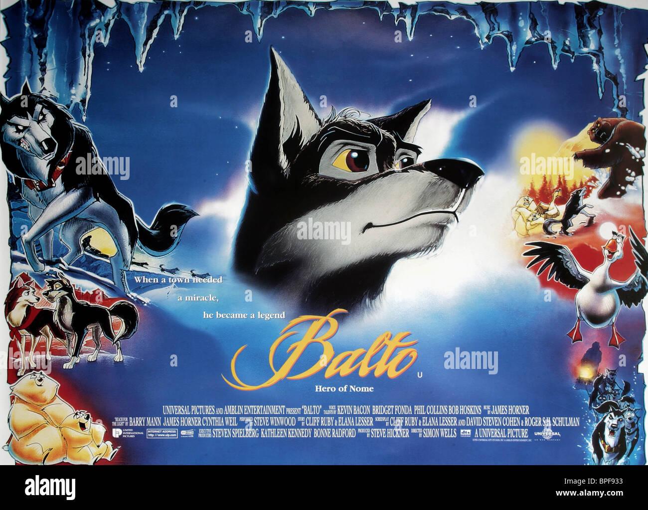 1995 Movie Posters: BALTO POSTER BALTO (1995 Stock Photo: 31069223