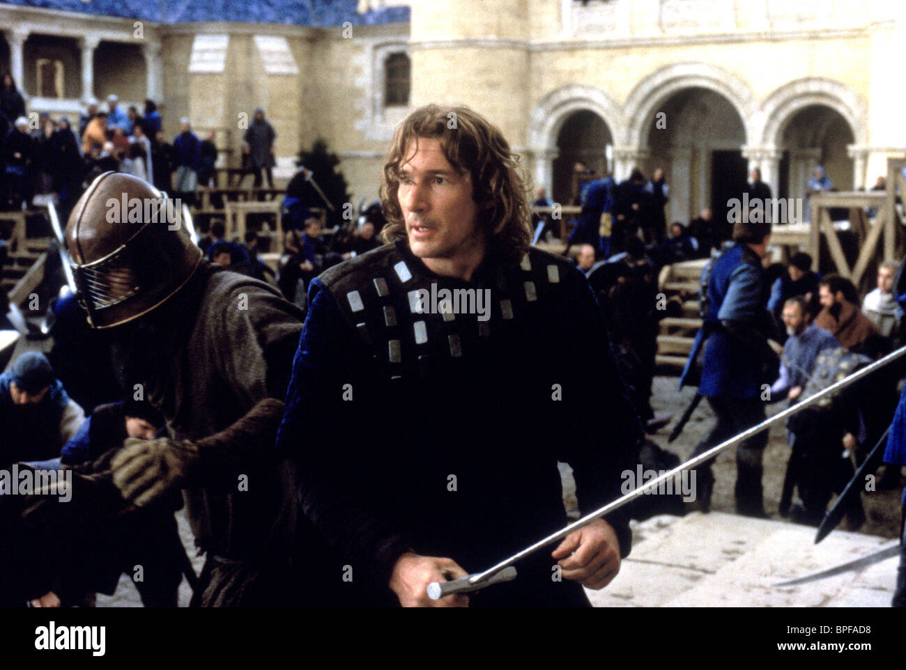 richard gere first knight 1995 stock photo royalty free