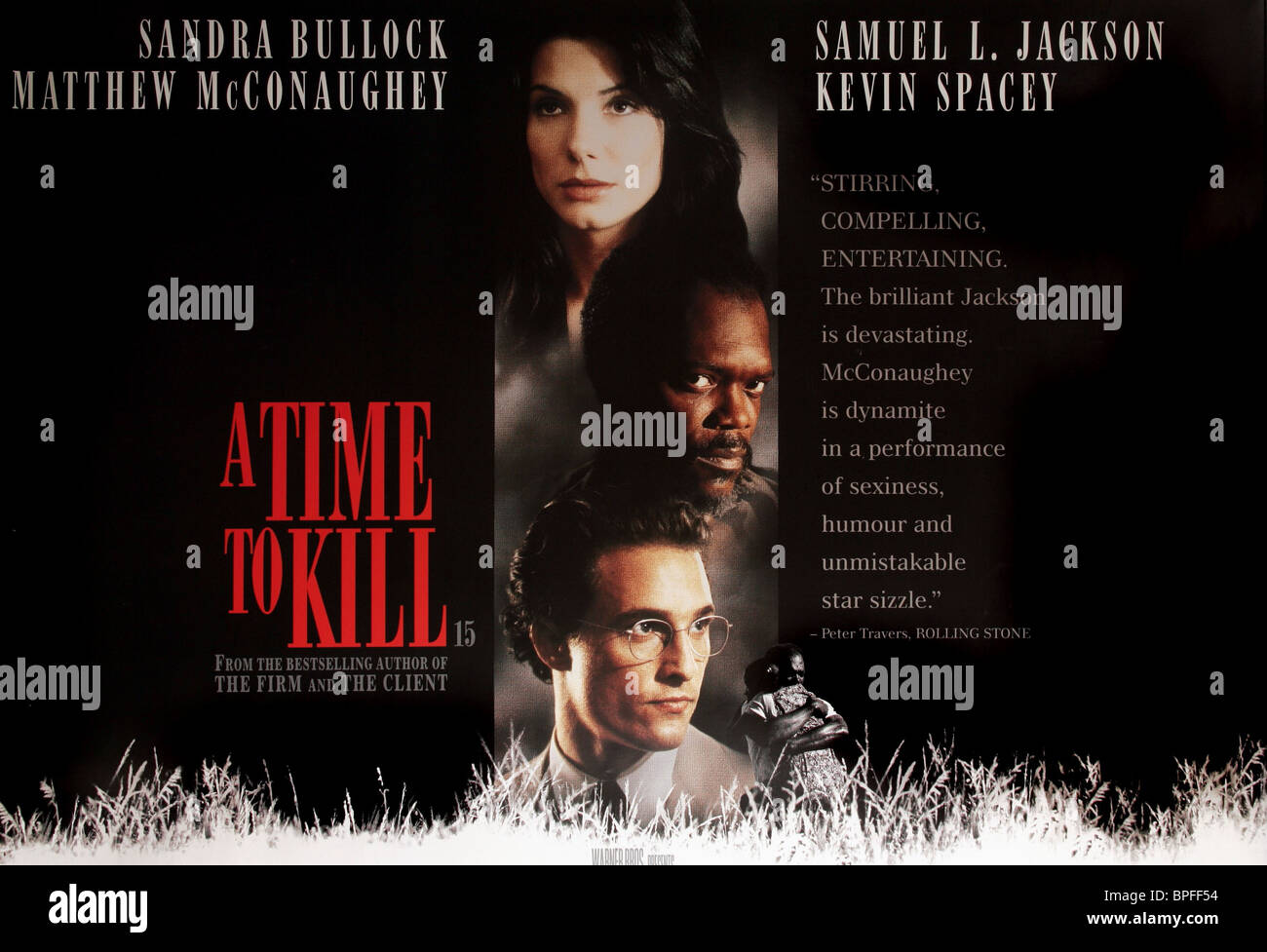 a time to kill and jackson A time to kill is a 1996 american crime drama film based on john grisham's 1989 novel a time to kill, directed by joel schumacher sandra bullock, samuel l jackson, matthew mcconaughey, and kevin spacey star, with oliver platt, ashley judd, kiefer and donald sutherland, and patrick mcgoohan appearing in supporting roles.