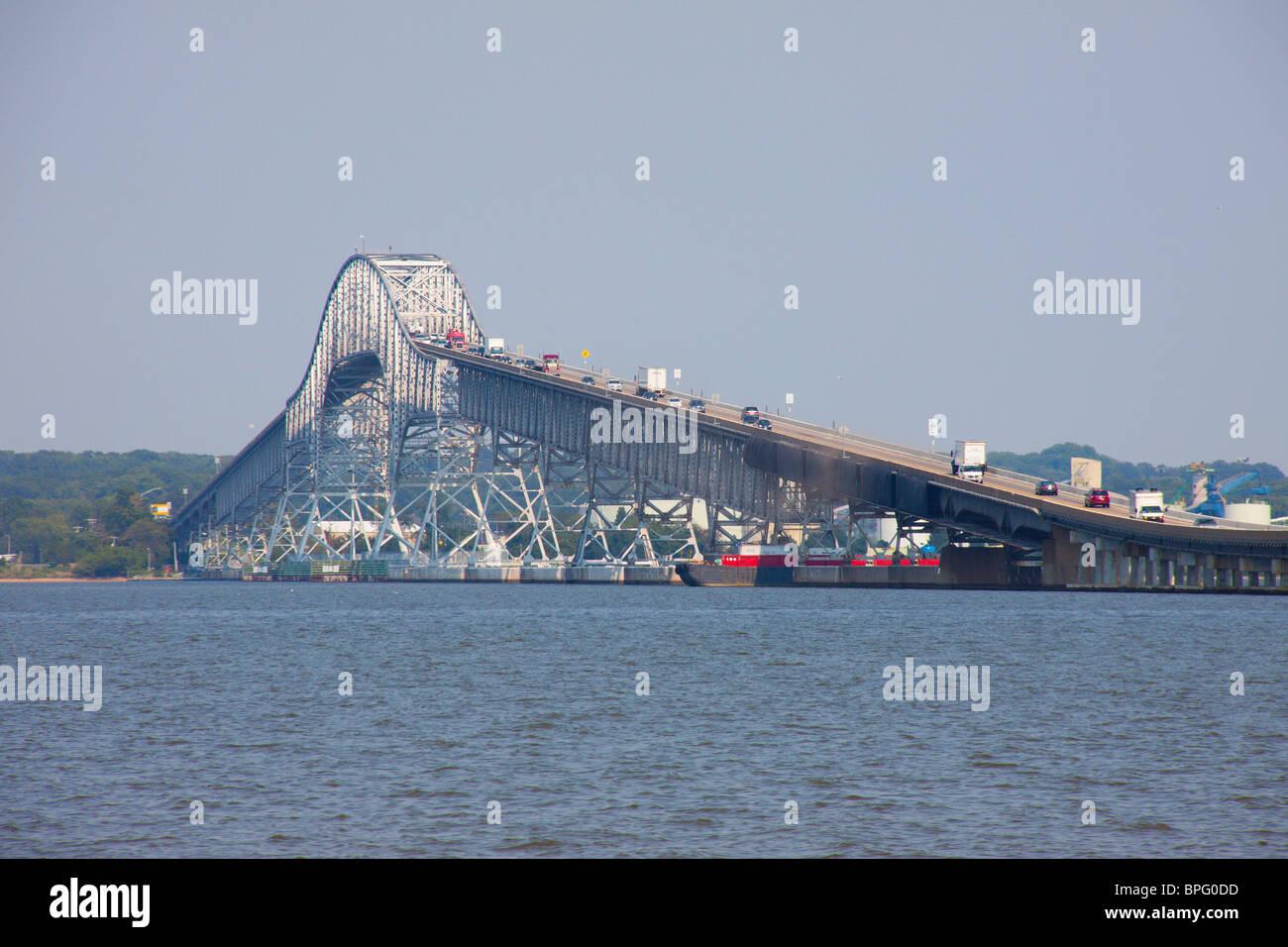 Harry Nice Bridge, Potomac River, Maryland And Virginia