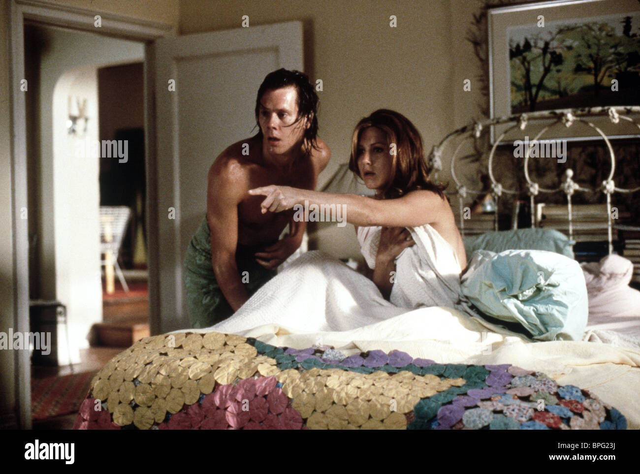 KEVIN BACON & JENNIFER ANISTON PICTURE PERFECT (1997 Stock Photo ...