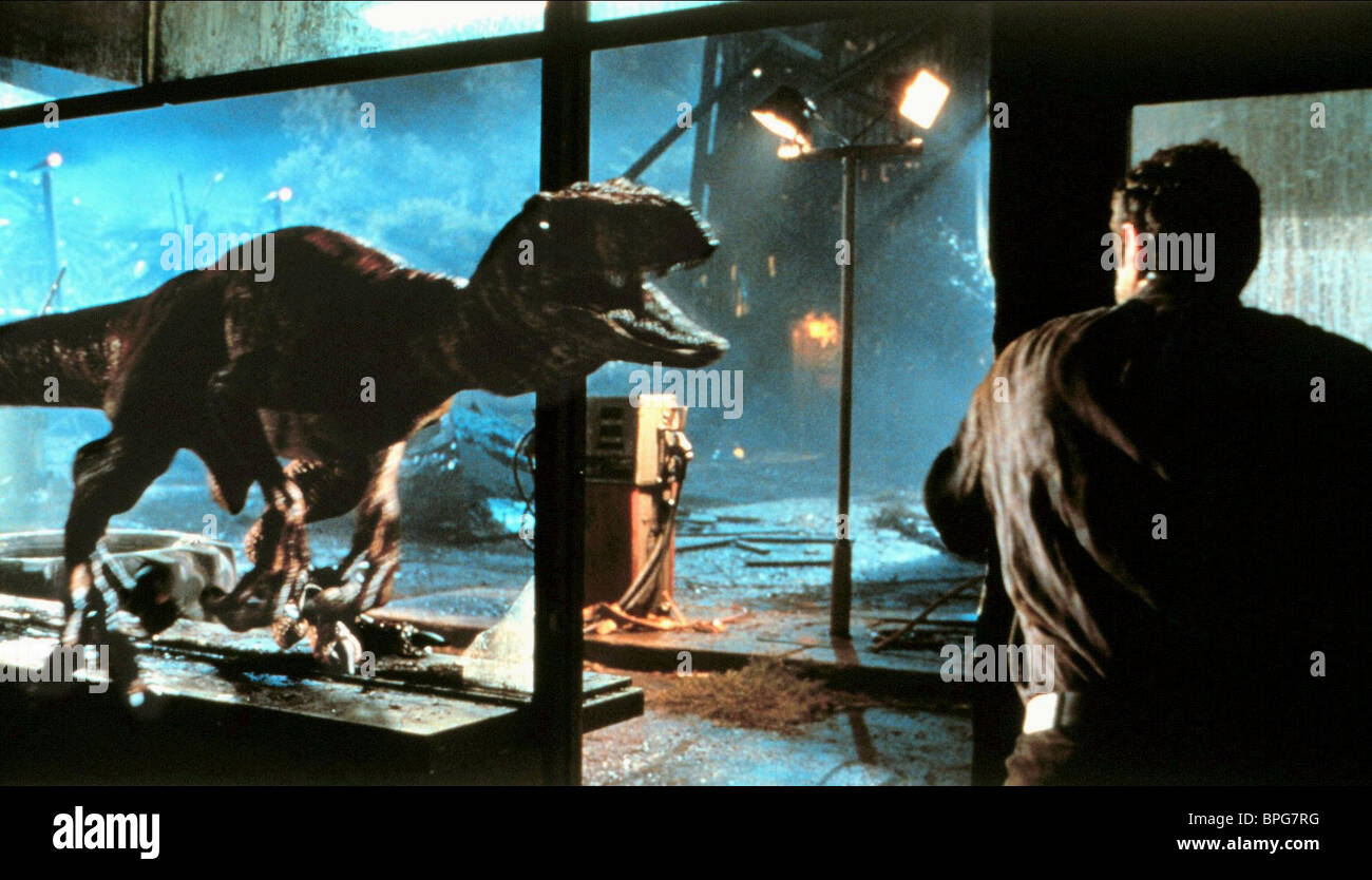 jurassic park mise en scene Jurassic park on the other hand is a film about bringing dinosaurs back to life, while also causing massive chaos however, despite these major differences in plot, both films are based on a similar idea, genetic engineering.