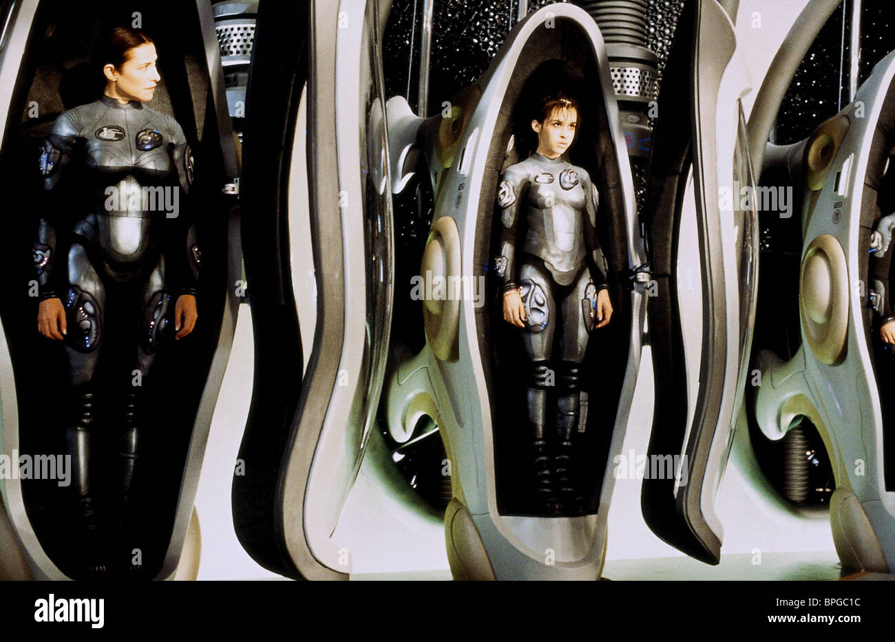 mimi rogers amp heather graham lost in space 1998 stock