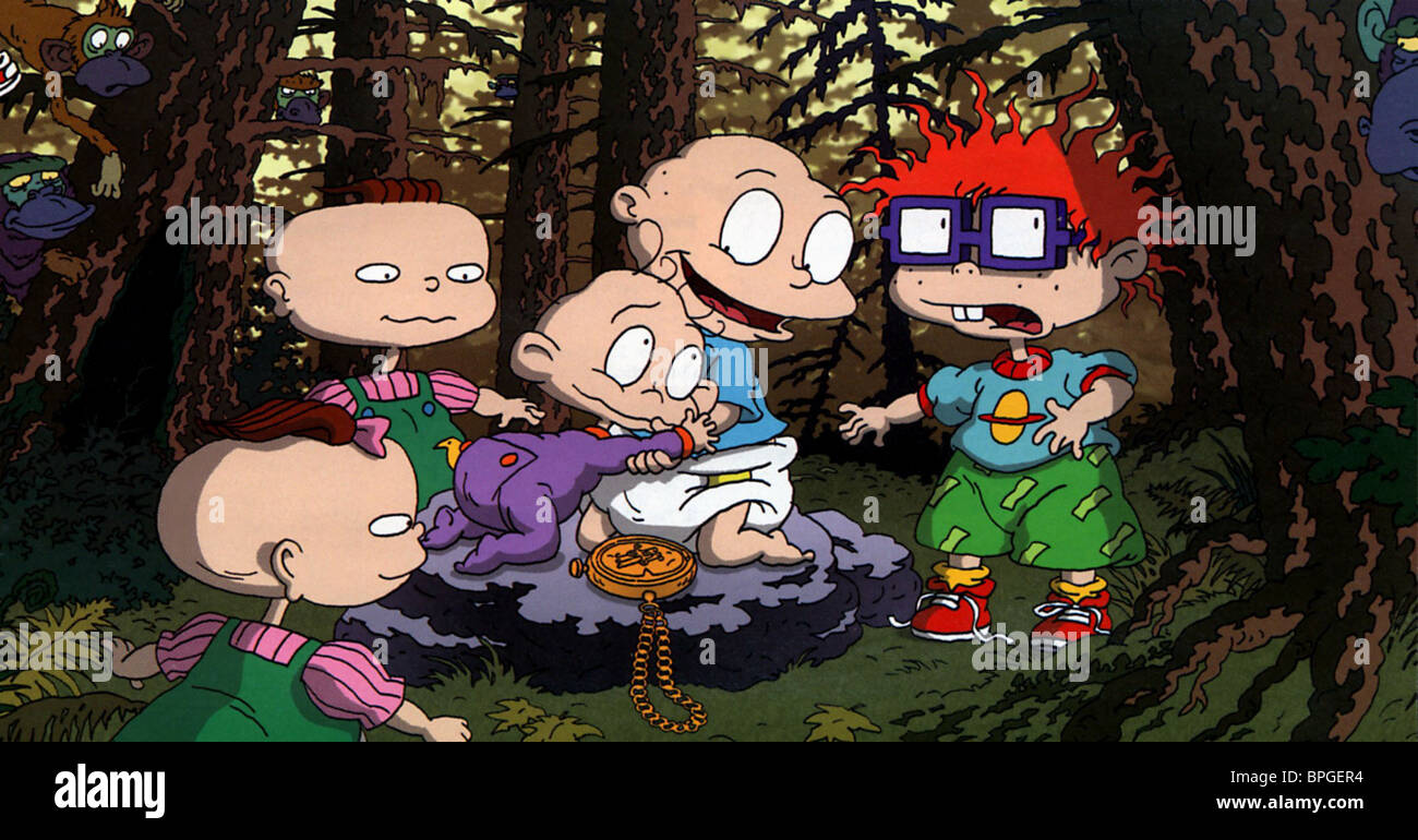 Rugrats Chuckie And Lil